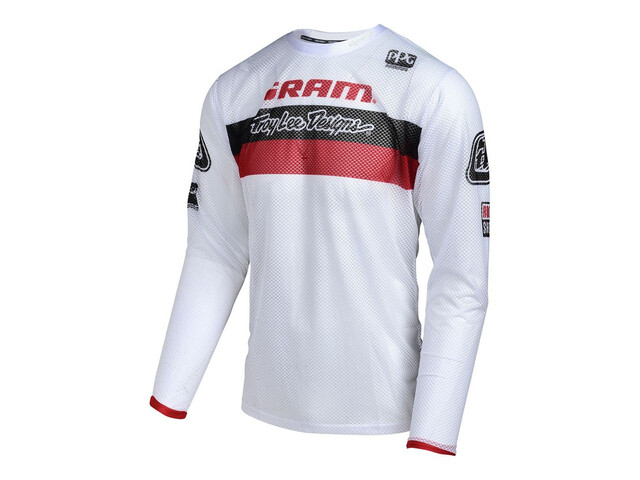Troy Lee Designs Sprint Air SRAM TLD Jersey Youths Racing White